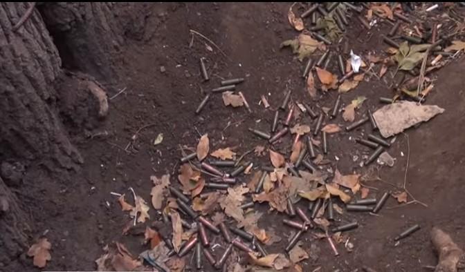 Бойцы ВСУ открыли огонь и оккупанты отступили / скриншот видео 5 канала