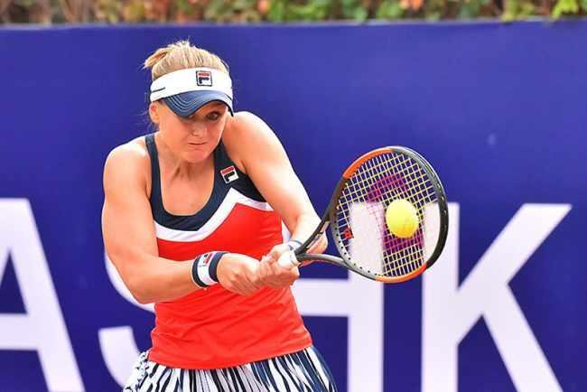 Катерина Козлова в первом круге обыграла китаянку Чжан Шуай / фото: btu.org.ua