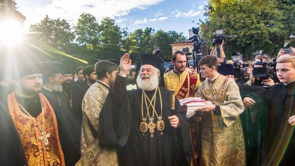 До Одеси прибув Патріарх Олександрійської Православної Церкви / eparhiya.od.ua