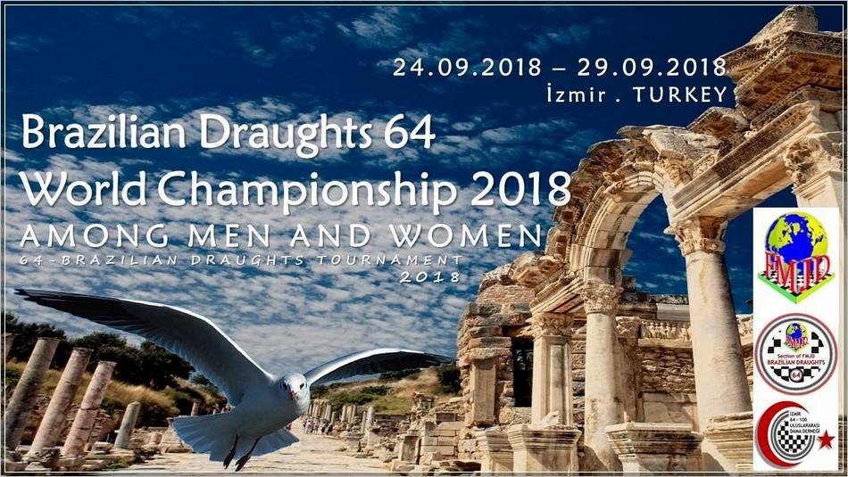 В Ізмірі завершилися змагання чемпіонату світу з бразильських шашок / draughts.com.ua