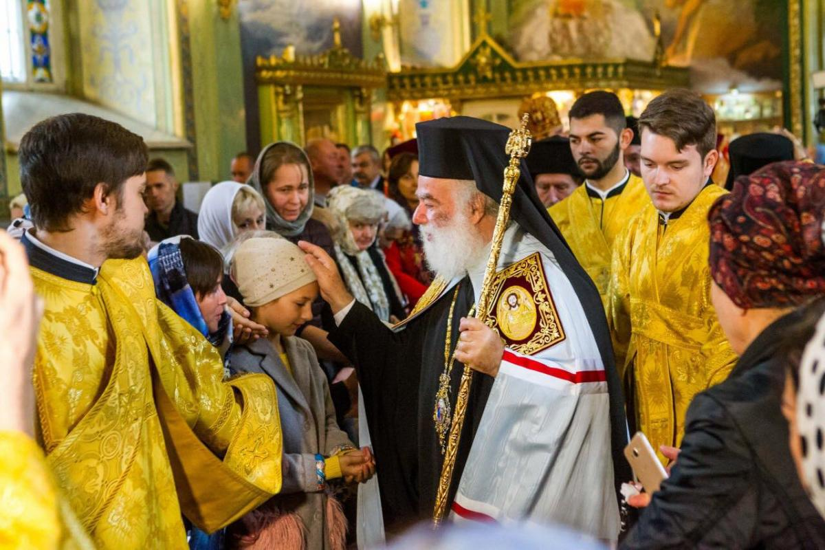 Патриарх Феодор II совершил литургию в Свято-Троицком соборе Одессы / eparhiya.od.ua