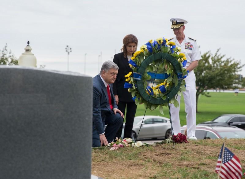 Порошенко почтили память Джона Маккейна / president.gov.ua