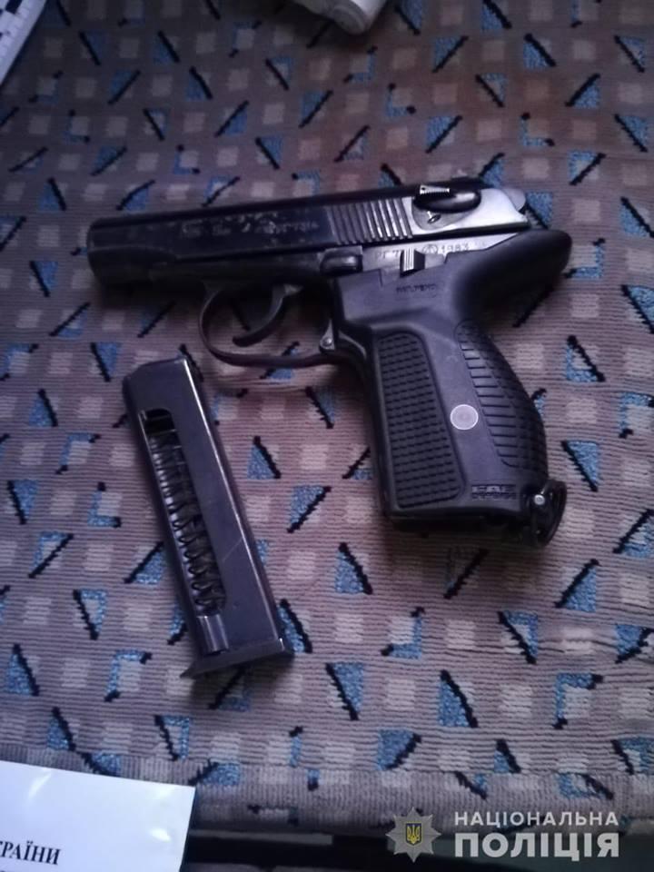 Патрульные задержали двух правонарушителей / фото: Нацполиция
