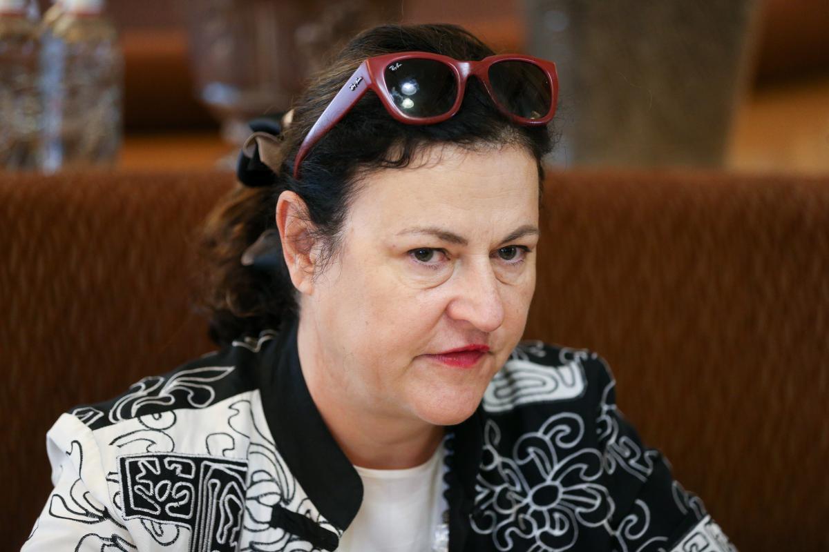 Представник Єврокомісії Катаріна Матернова / фото УНІАН