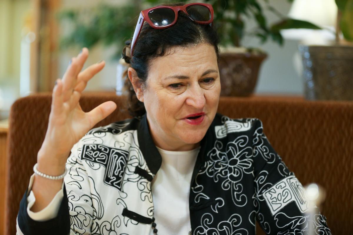 Матернова зазначила, що ще рано озвучувати конкретні дати щодо вступу України до ЭС/ УНІАН