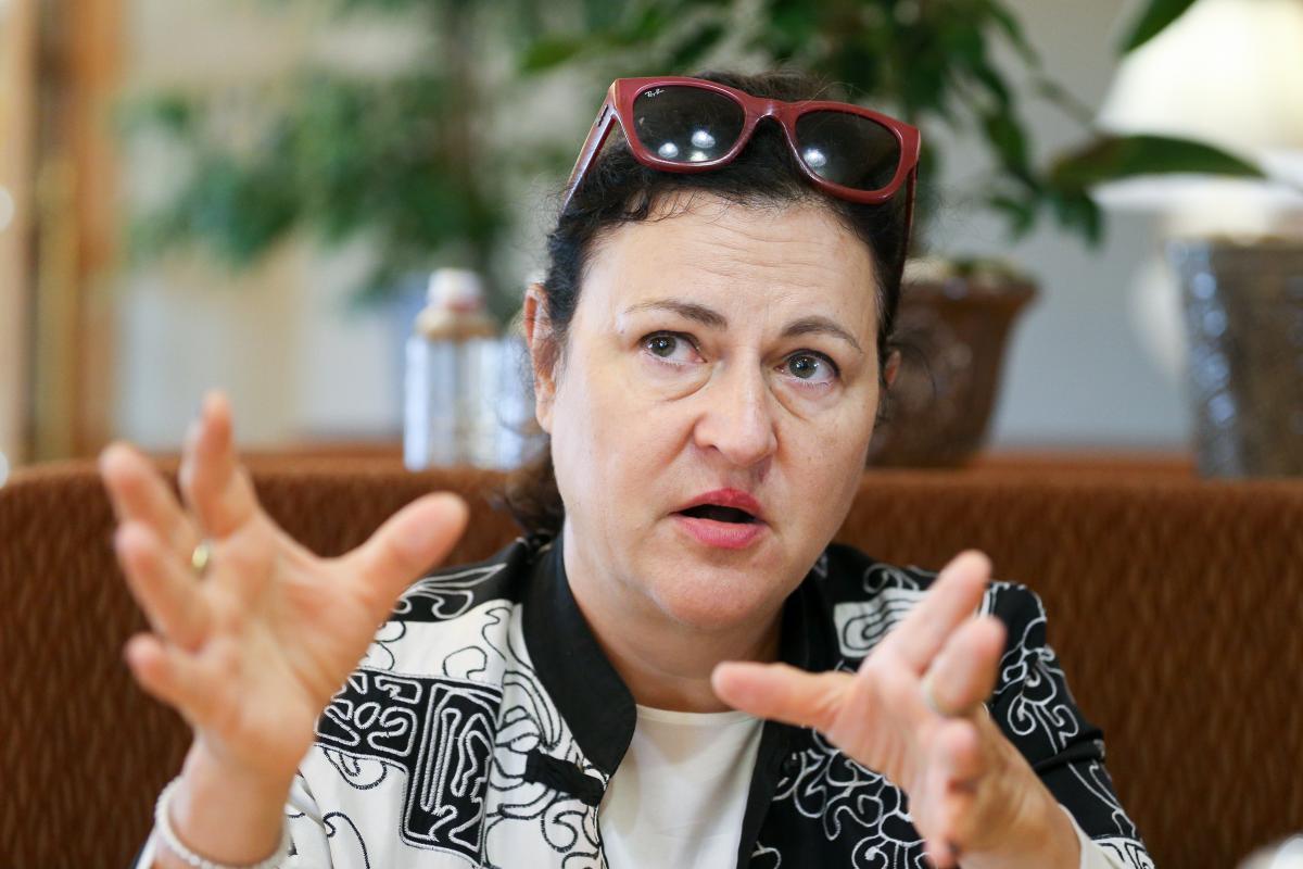 Матернова зазначила, що у березнінаступного року Україна може отримати 50 мільйонів євро для покращення енергоефективності/ фото УНІАН