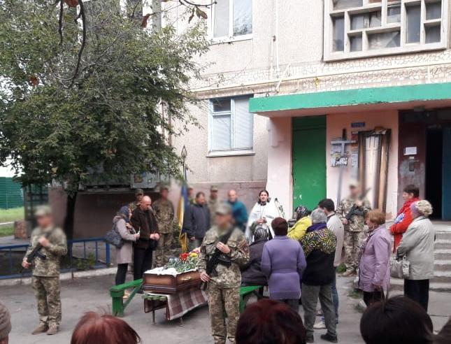 В Кропивницком священник УПЦ отпел погибшего военнослужащего/ orthodox-kr.org.ua