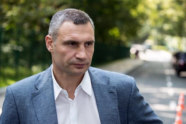 Kyiv Mayor Klitschko / Photo from kiev.klichko.org