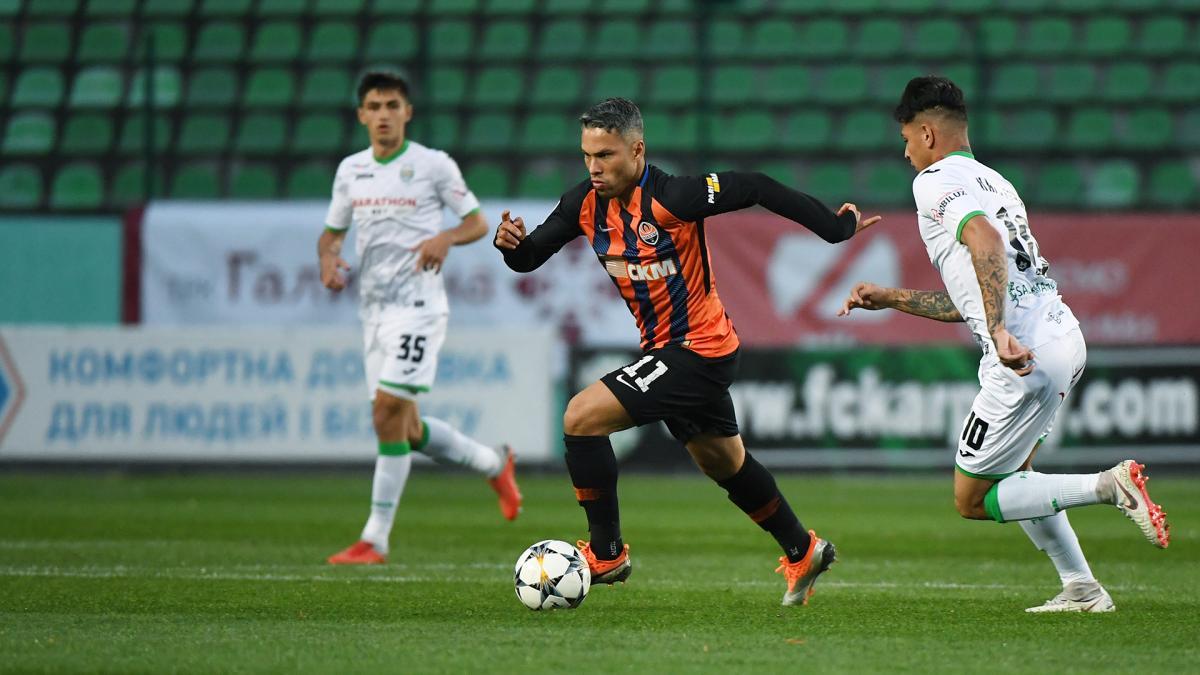 Шахтар розгромив Карпати в гостьовому матчі Прем'єр-ліги / shakhtar.com