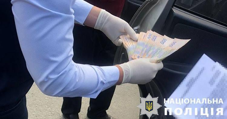 На Львовщине на взятке в 100 тысяч гривень задержали чиновника / фото Facebook