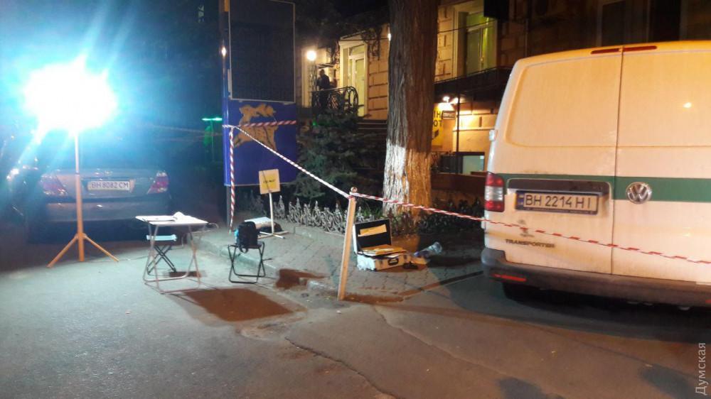 Неизвестные ограбили инкассаторов в Одессе / фото dumskaya.net