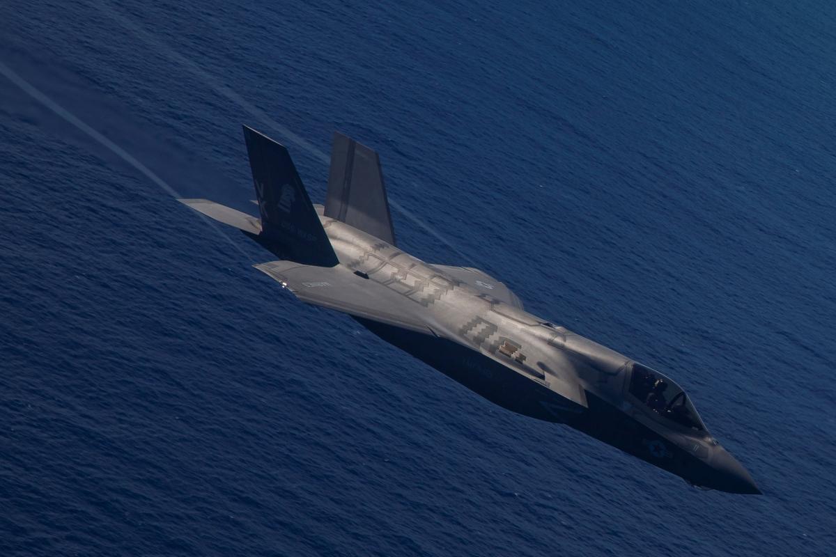 Истребитель F-35B / REUTERS