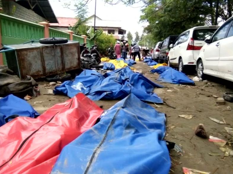 Жертвиземлетрусу в Індонезії / REUTERS