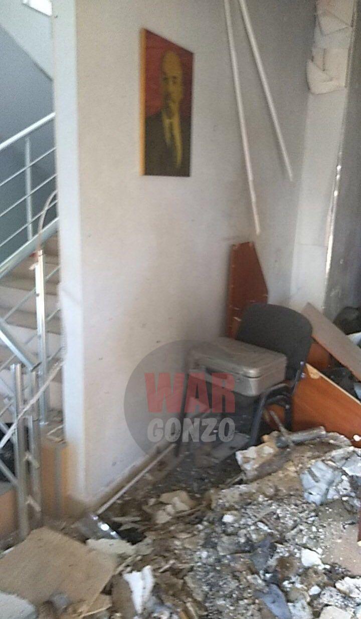 Взрыв в Донецке / WarGonzo