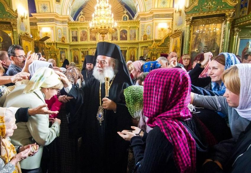 Олександрійський Патріарх Феодор очолив богослужіння в одеському соборі / eparhiya.od.ua