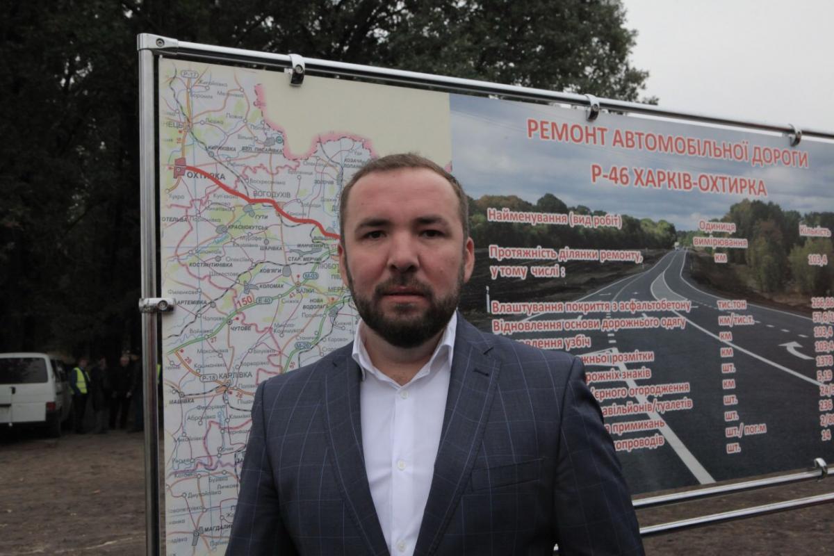 Генеральный директор ООО Автомагистраль-Юг Николай Тимофеев
