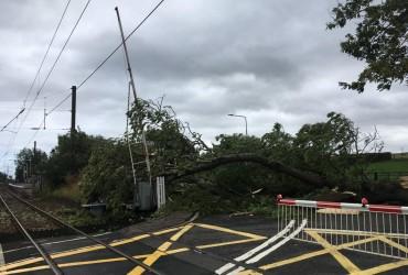 """Жертвами шторму """"Алі"""" в Ірландії і Великобританії стали двоє людей (відео)"""