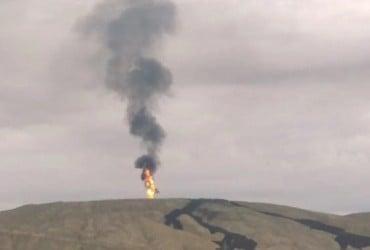 В Баку произошло извержение второго по величине в мире грязевого вулкана (видео)