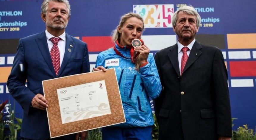 Білорусці передали бронзу Олімпіади-2008, відібрану в української п'ятиборки Терещенко