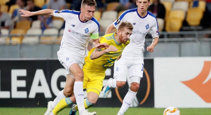 Київське Динамо втратило важливу перемогу у Лізі Європи над Астаною
