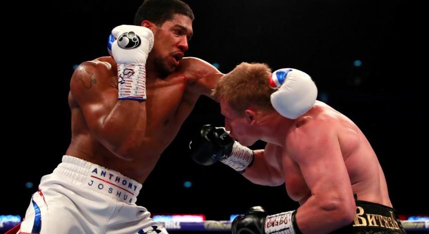 Джошуа розбив Повєткіна і захистив титули чемпіона світу з боксу