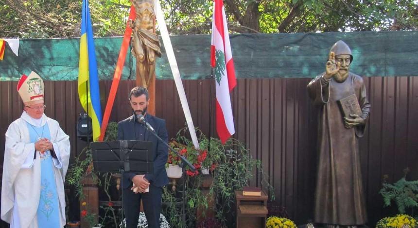 В Одесі відкрили пам'ятник святому Шарбелю