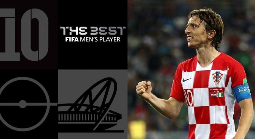 Лука Модріч визнаний кращим гравцем світу ФІФА 2018 року (фотогалерея)