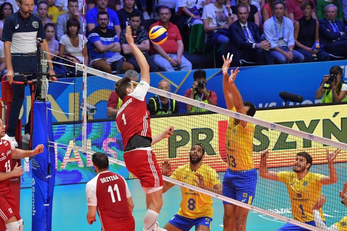 Сборная Польши обыграла Бразилию в финале ЧМ-2018 по волейболу / FIVB