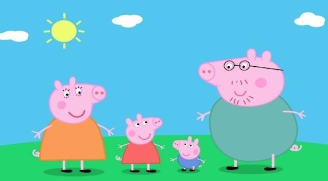 Британский телеканал вместо боя включили мультфильм про свинку Пеппу / скрин видео