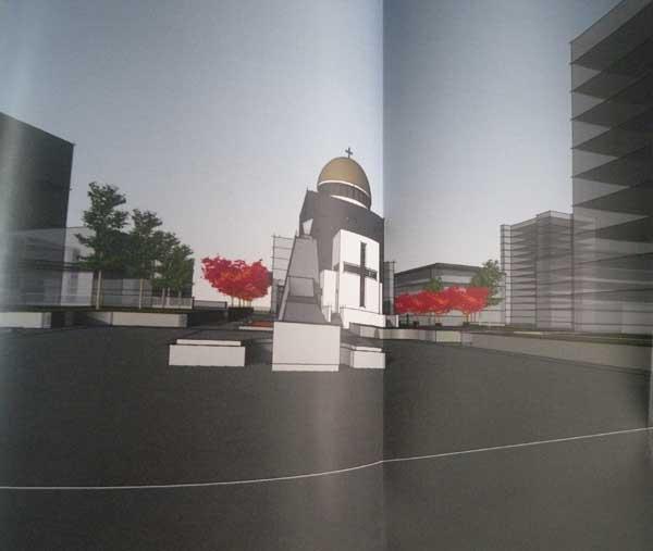 У Дніпрі побудують храм УПЦ КП на честь загиблих воїнів з музеєм і терасою / dv-gazeta.info