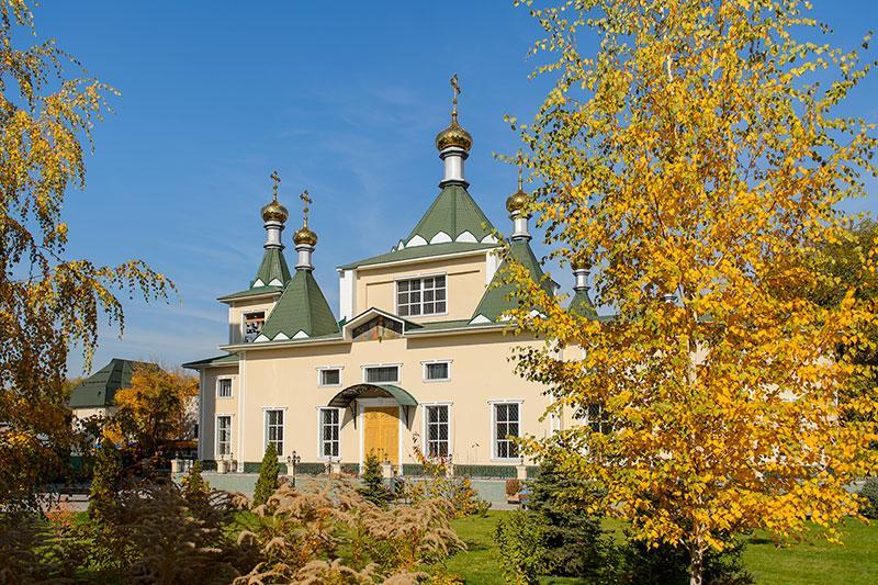 В Иверско-Серафимовском монастыре отметили 110-летие обители / mitropolia.kz