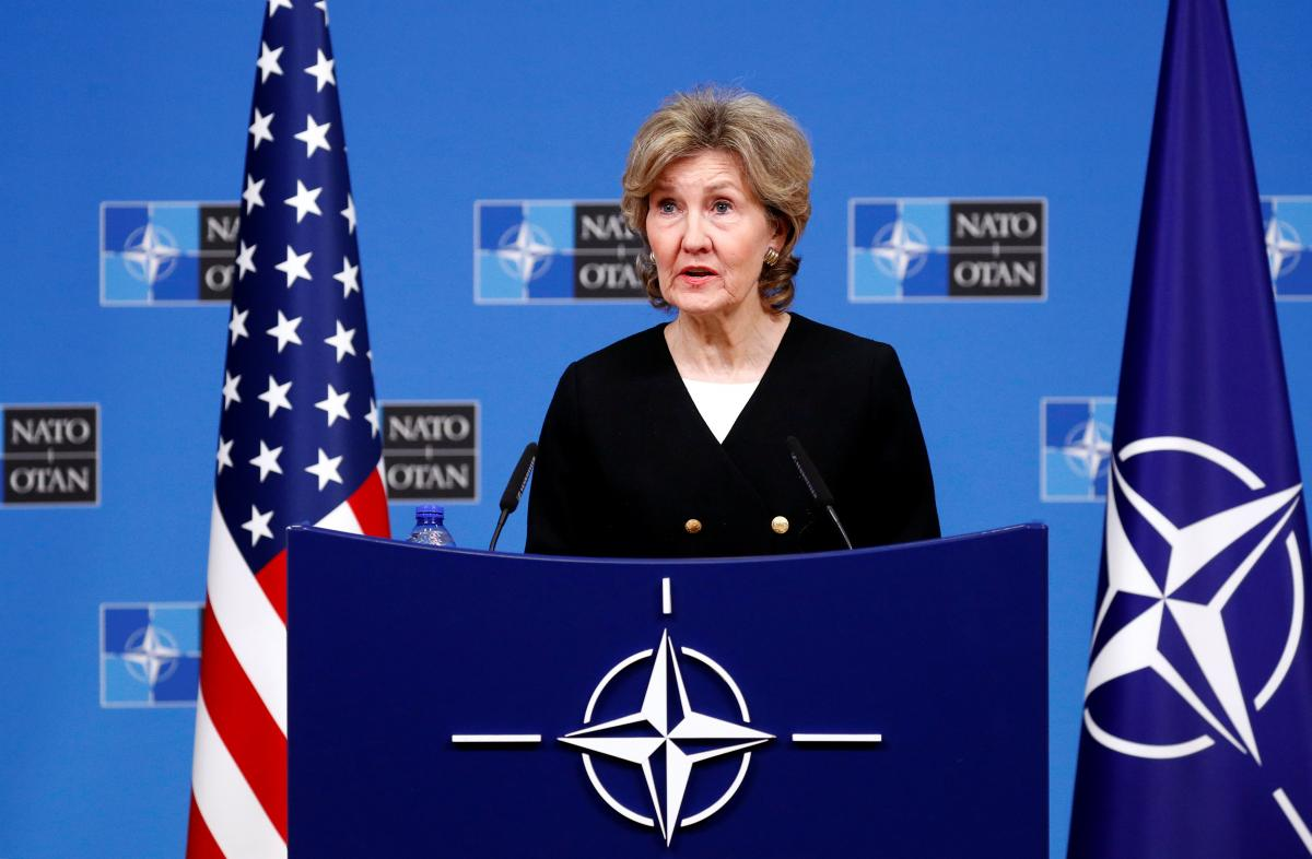 U.S. Permanent Representative to NATO Kay Bailey Hutchison / REUTERS