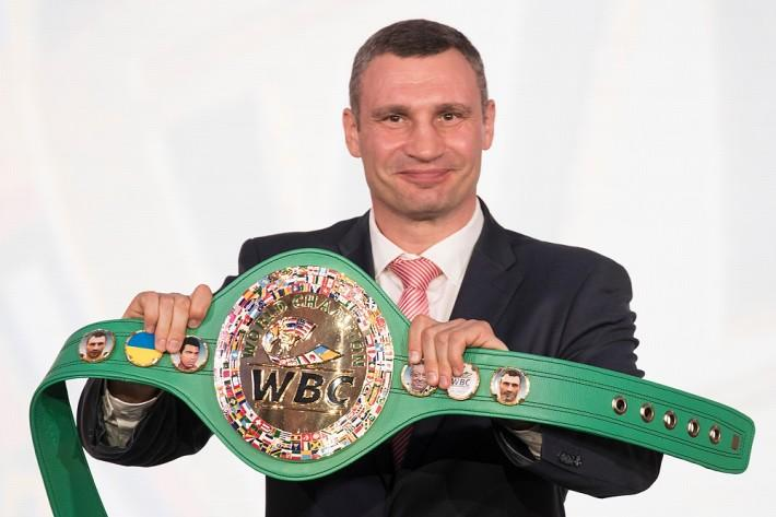 Кличко сделал действительно большое дело, когда добился внесения флага Украины на эмблему WBC, – блогер / kiev.klichko.org