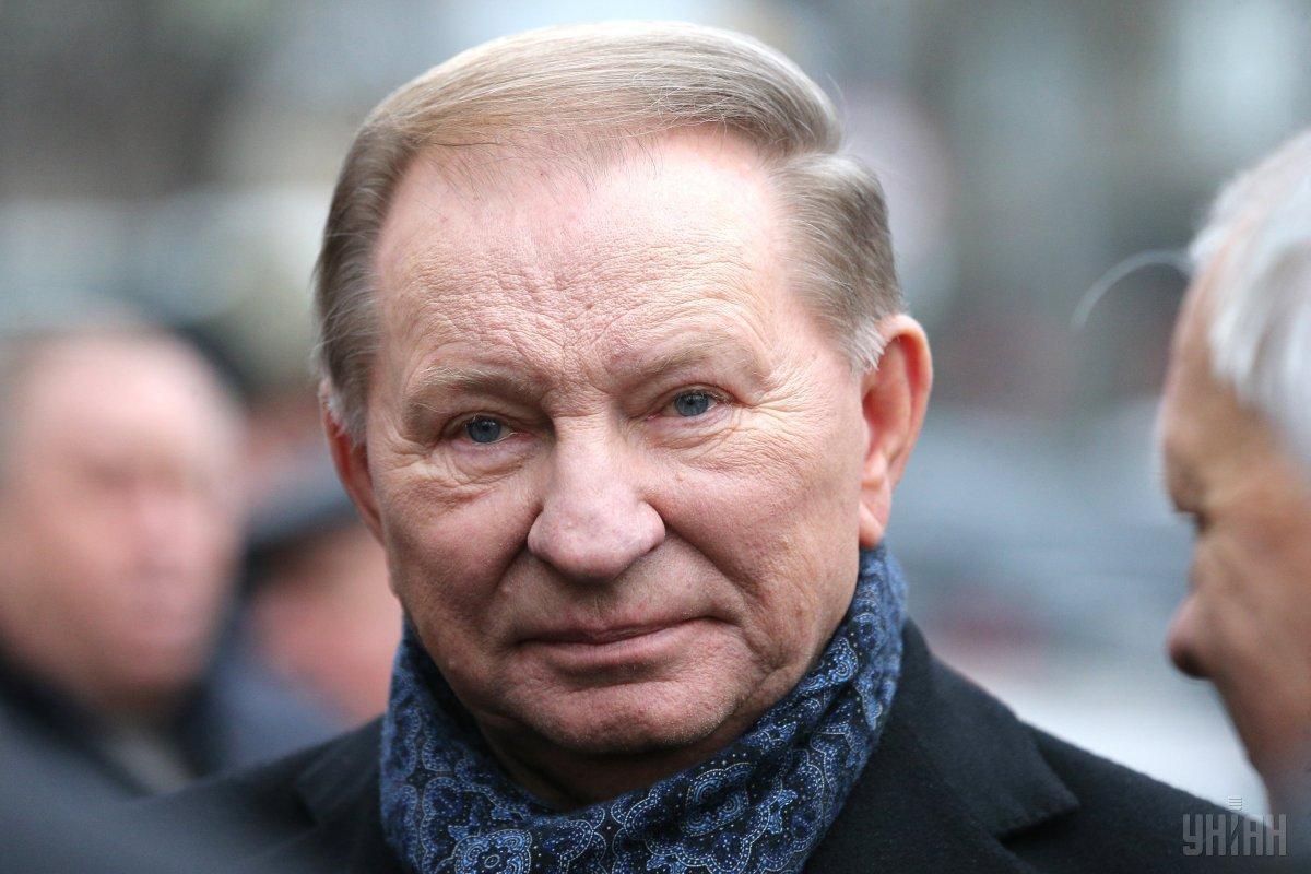 Kuchma will again represent Ukraine at Minsk talks / Photo from UNIAN