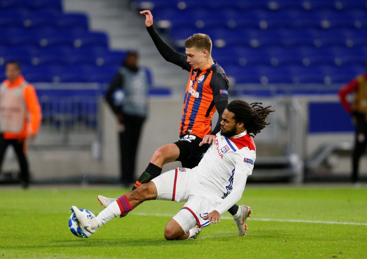 Шахтар забив Ліону два голи у гостьовому матчі при порожніх трибунах / Reuters