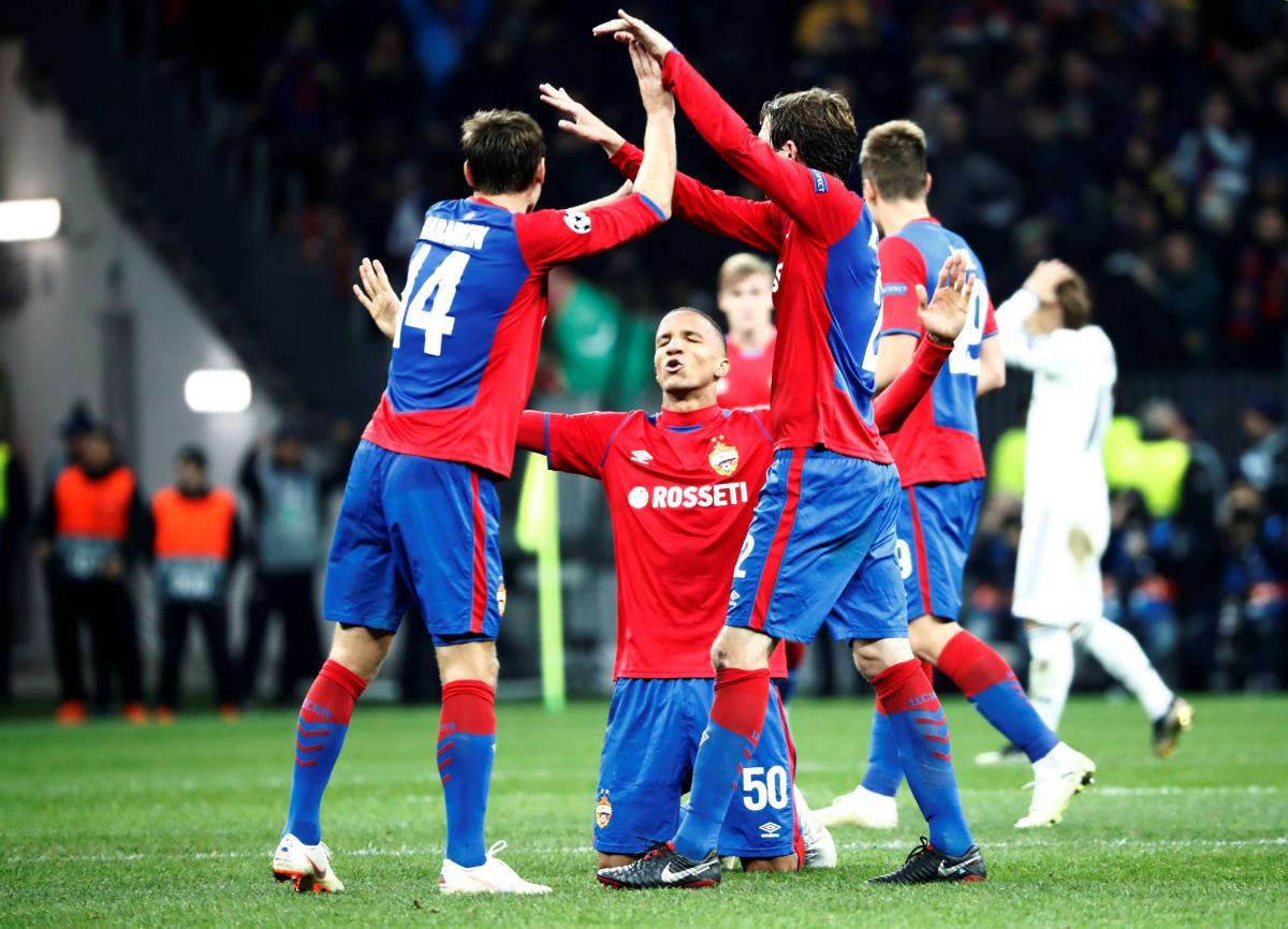 "ЦСКА (Москва) обыграл ""Реал"" / REUTERS"