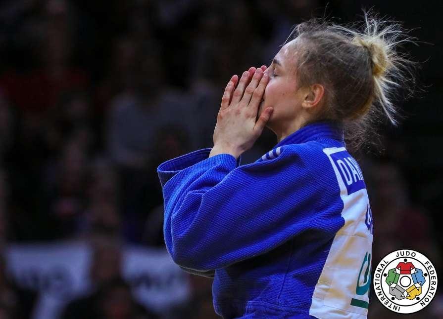 Дарья Билодид возглавила мировой рейтинг / IJF