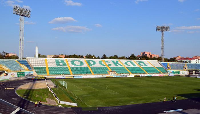 """Стадион """"Ворскла"""" / vorskla.com.ua"""