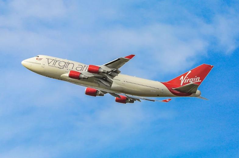 Boeing 747 компанії Virgin Atlantic / фото virgin.com
