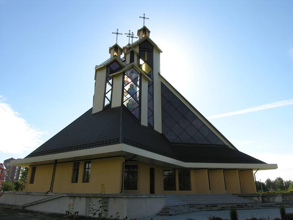 Во Франковске построили храм УГКЦ в «гуцульсько-урбанистическом» стиле / facebook.com / Igor Pelekhatyy