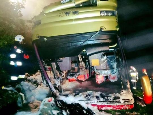 ДТП с украинскими туристами в Польше: в крови водителя обнаружили психотропные вещества