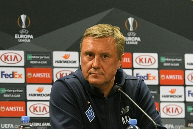 Хацкевич отметил долю везения на стороне своих игроков в матче в Астане/ fcdynamo.kiev.ua