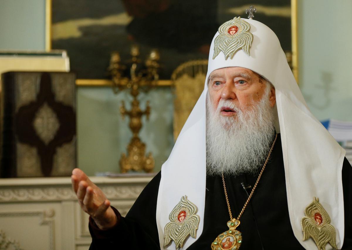 Почетный патриарх ПЦУ Филарет / REUTERS