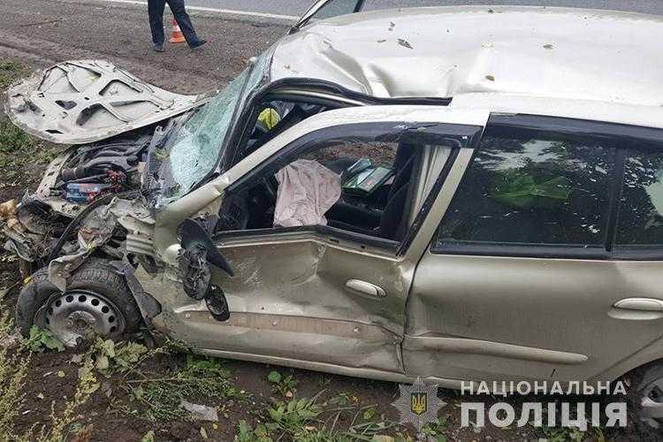 Внаслідок ДТПгоспіталізовано одного з водіїв\ Нацполіція