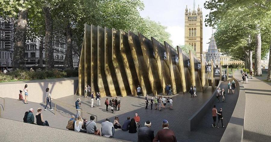 Проект мемориала жертвам Холокоста в Вестминстере / Фото thejc.com