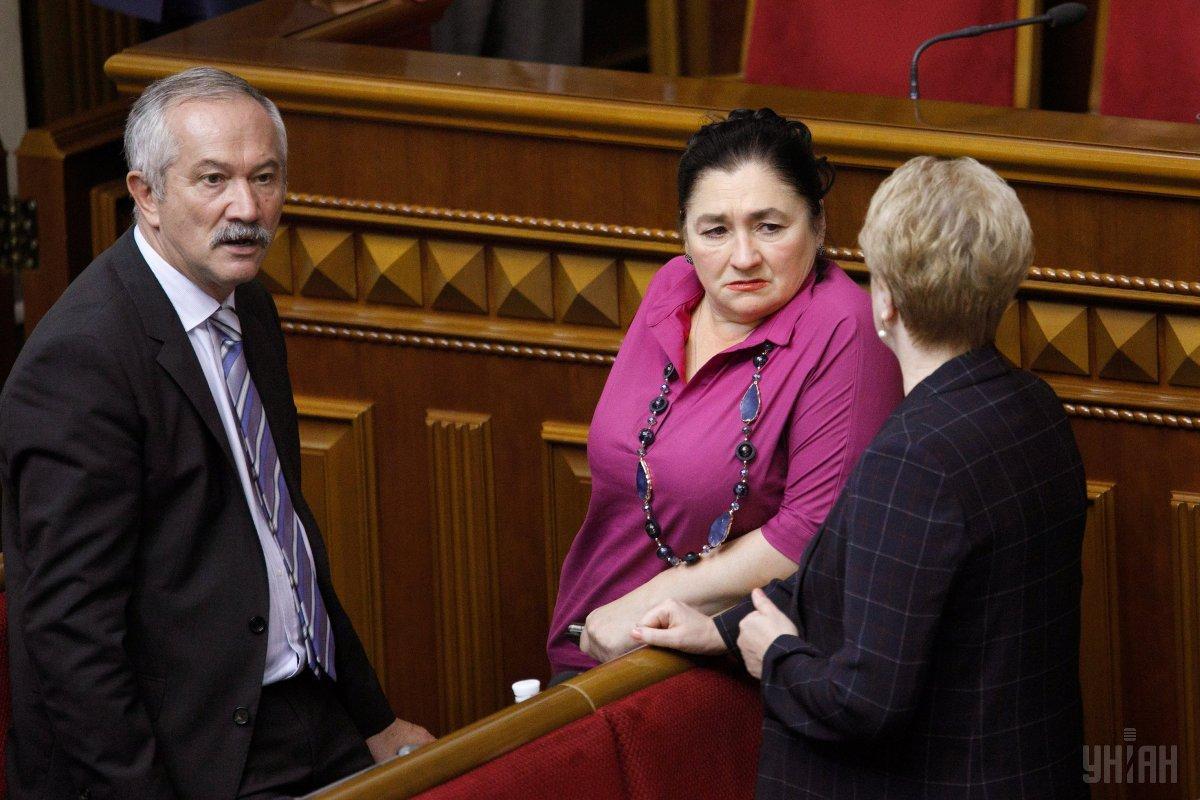 Матиос резко высказалась против тех, кто срывал принятие законопроекта об украинскомязыке / фото УНИАН