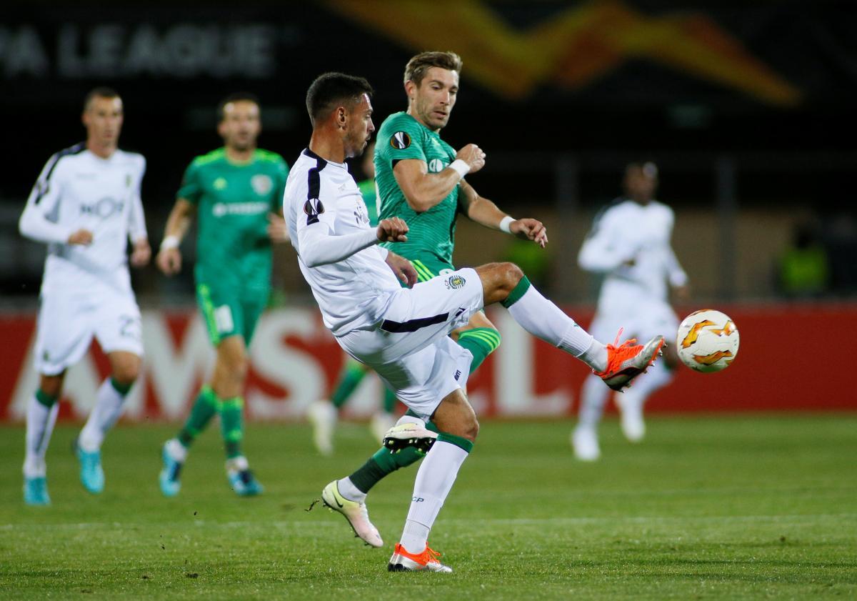 Ворскла програла в Полтаві португальському Спортингу, пропустивши два голи протягом 3-х хвилин / Reuters