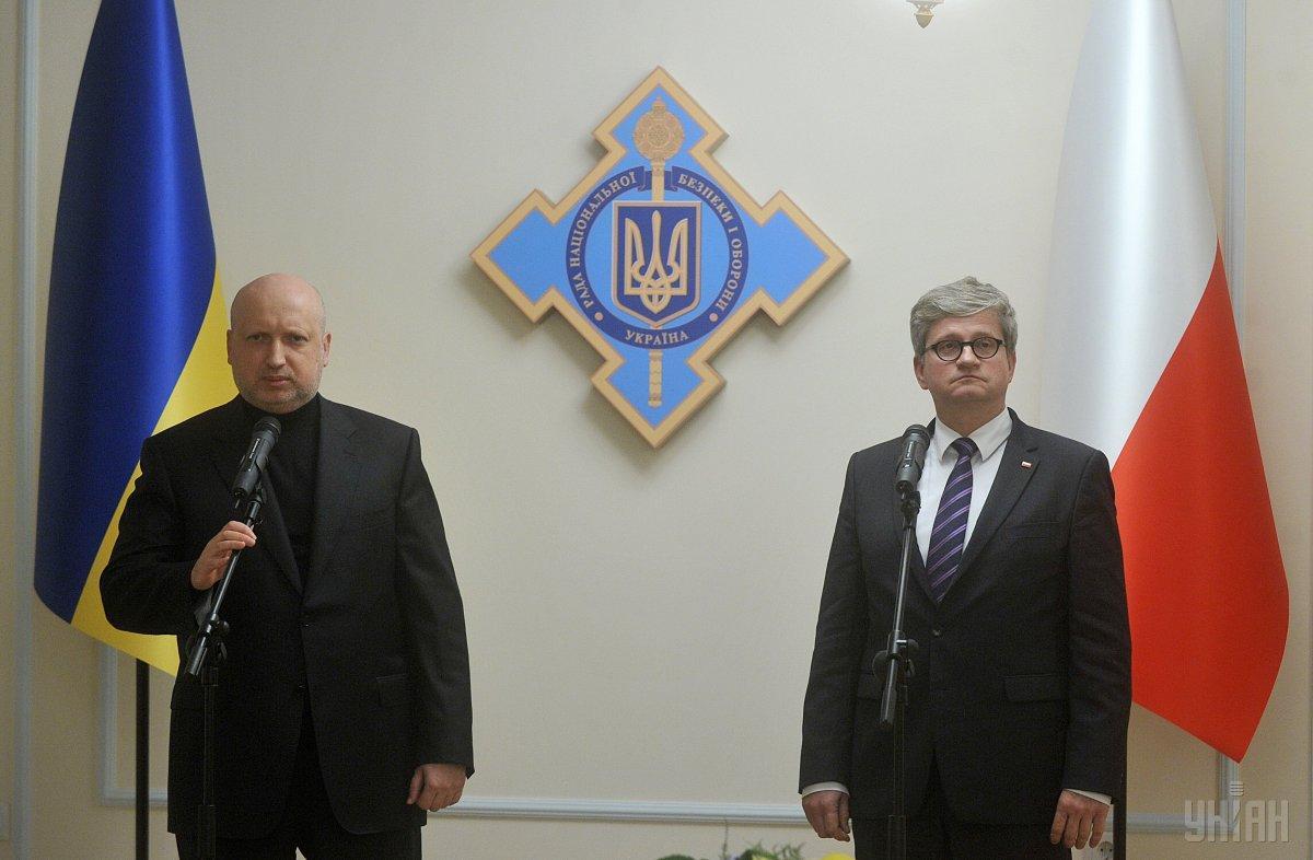 Павел Солох зустрівся з Олександром Турчиновим / фото УНІАН