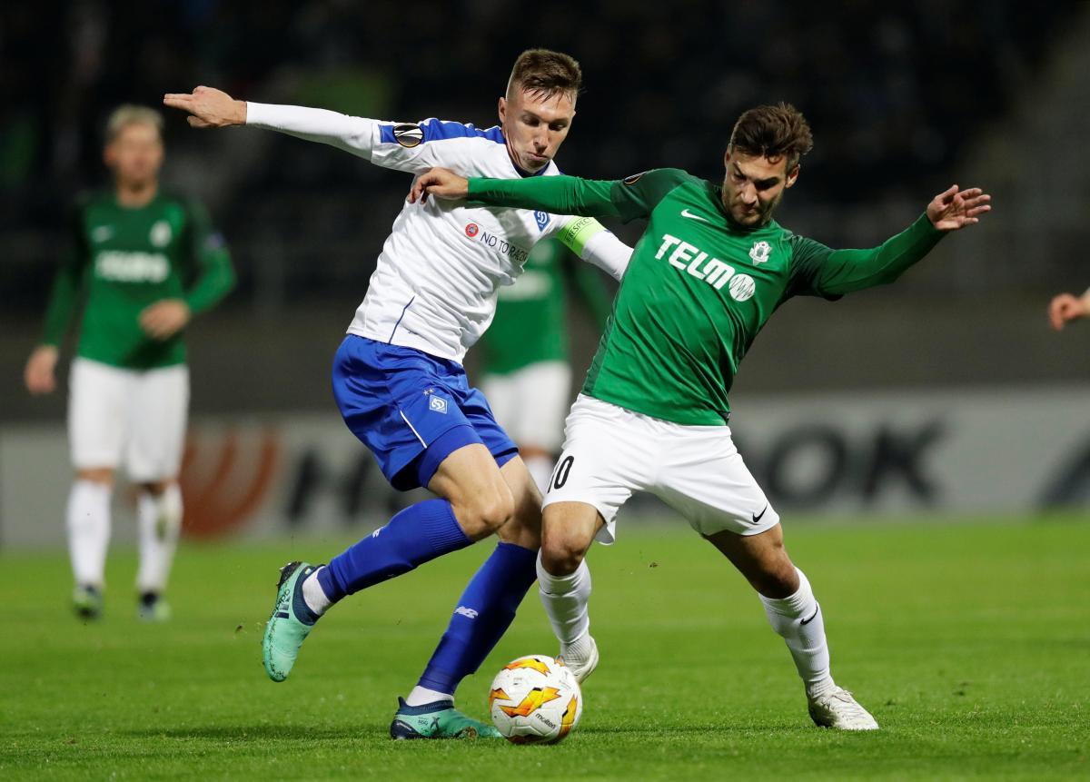 Динамо вновь не смогло одержать победу в Лиге Европы / Reuters
