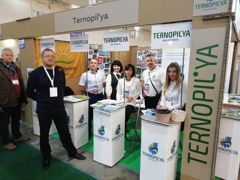 Тернопільщина представила свій туристичний потенціал на міжнародній виставці UITM'2018 / фото прес-служба ТОДА